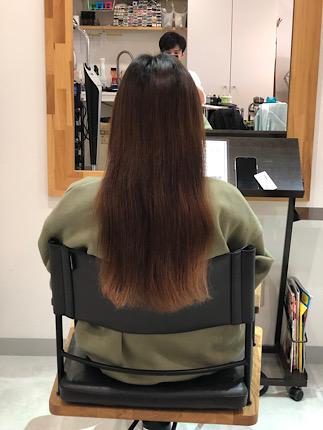 髪質改善4回目