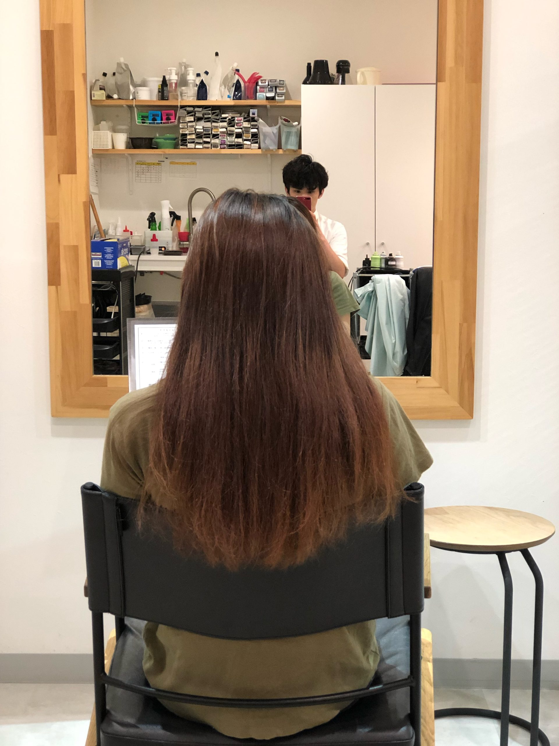 髪質改善2回目