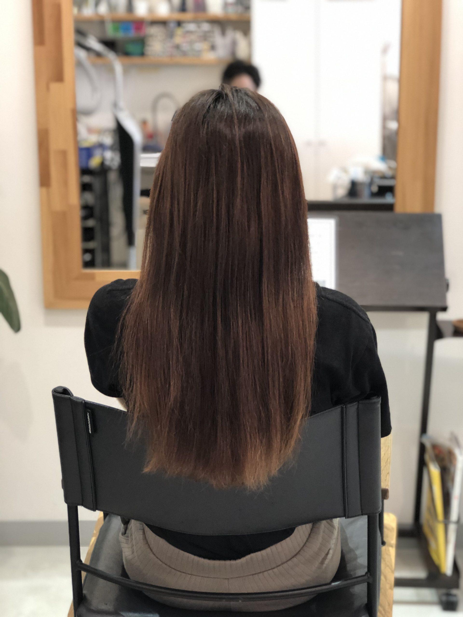 髪質改善3回目