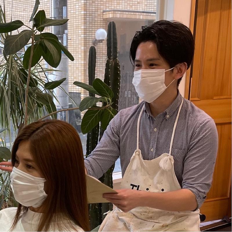 小倉南区の髪質改善リーブルのカウンセリング